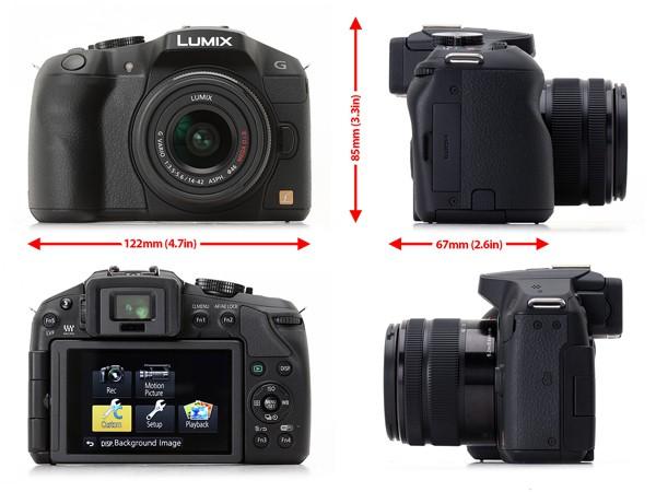Купить -  Panasonic DMC-G6 Kit 14-42mm Black (DMC-G6KEE-K)