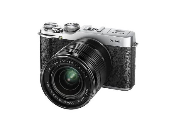 Купить - Fujifilm Fujifilm X-M1 kit XC 16-50 OIS (Silver)