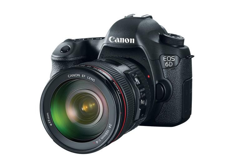 Купить -  Canon EOS 6D (N) + объектив 24-105mm f/4 L IS USM (Kit) Официальная гарантия!