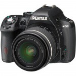 Фото -  PENTAX K-50 Kit (18-55mm DA L WR) Black