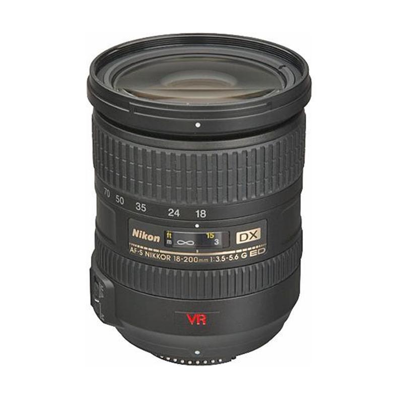 Купить -  Nikon AF-S DX VR Zoom-Nikkor 18-200mm f/3.5-5.6G IF-ED (11.1x)