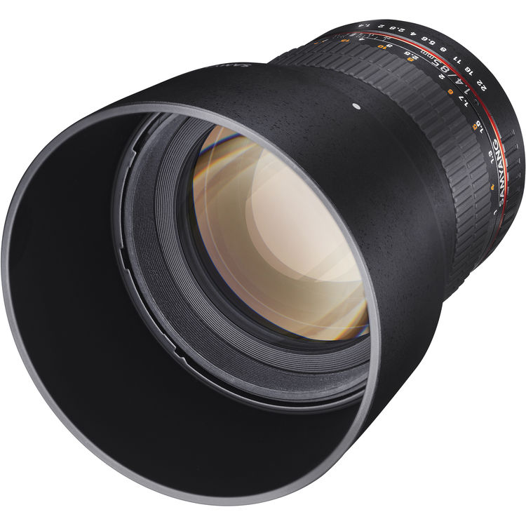 Купить -  Samyang 85mm f/1.4 AS IF Canon EF