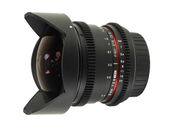 Купить -  Samyang 8mm T3.8 AS IF UMC Fish-eye CS II VDSLR Canon EF