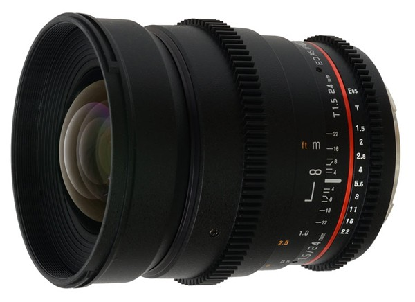 Купить -  Samyang 24mm T1.5 ED AS UMC VDSLR Canon EF