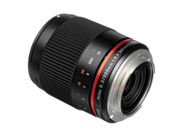 Купить -  Samyang Reflex 300mm f/6.3 ED UMC CS Canon EF-M Black