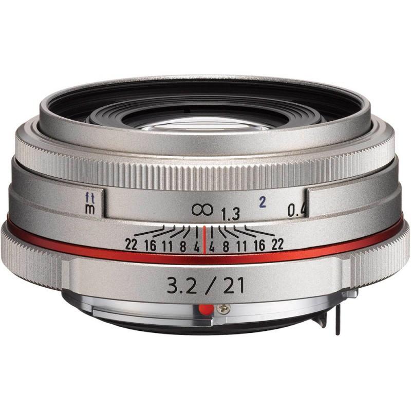 Купить - Pentax Pentax HD DA 21mm f/3.2 AL Limited Silver (Официальная гарантия)