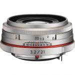 Фото - Pentax Pentax HD DA 21mm f/3.2 AL Limited Silver (Официальная гарантия)