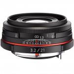 Фото - Pentax Pentax HD DA 21mm f/3.2 AL Limited Black (Официальная гарантия)