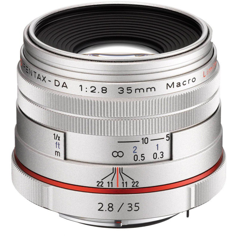 Купить - Pentax HD Pentax DA 35mm f/2.8 Maсro Limited Silver (Официальная гарантия)