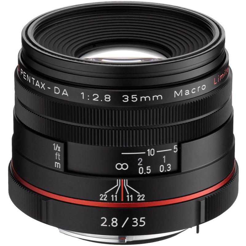 Купить - Pentax HD Pentax DA 35mm f/2.8 Maсro Limited Black (Официальная гарантия)