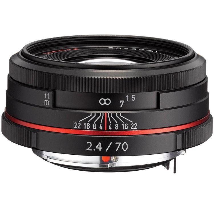 Купить - Pentax HD Pentax DA 70mm f/2.4 Limited Black (Официальная гарантия) + В подарок объектив Lensbaby!