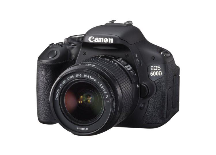 Купить - Canon Canon EOS 600D + объектив 18-55mm f/3.5-5.6 DC III (Kit) Официальная гарантия!