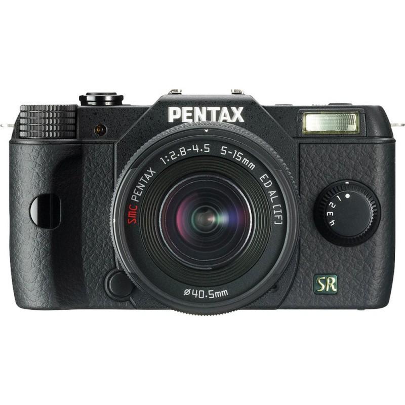Купить - Pentax PENTAX Q7 + объектив 5-15mm kit Black (Официальная гарантия)