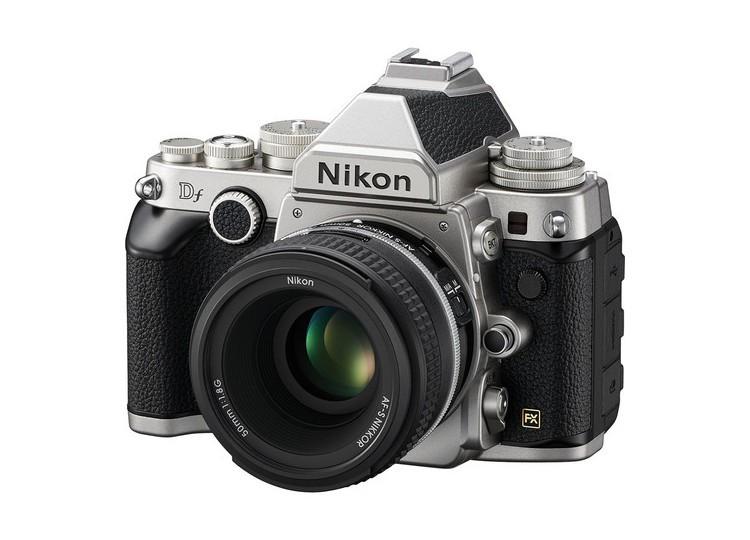 Купить - Nikon Nikon Df (Silver) + объектив 50mm f/1.8G (Kit) Официальная гарантия!