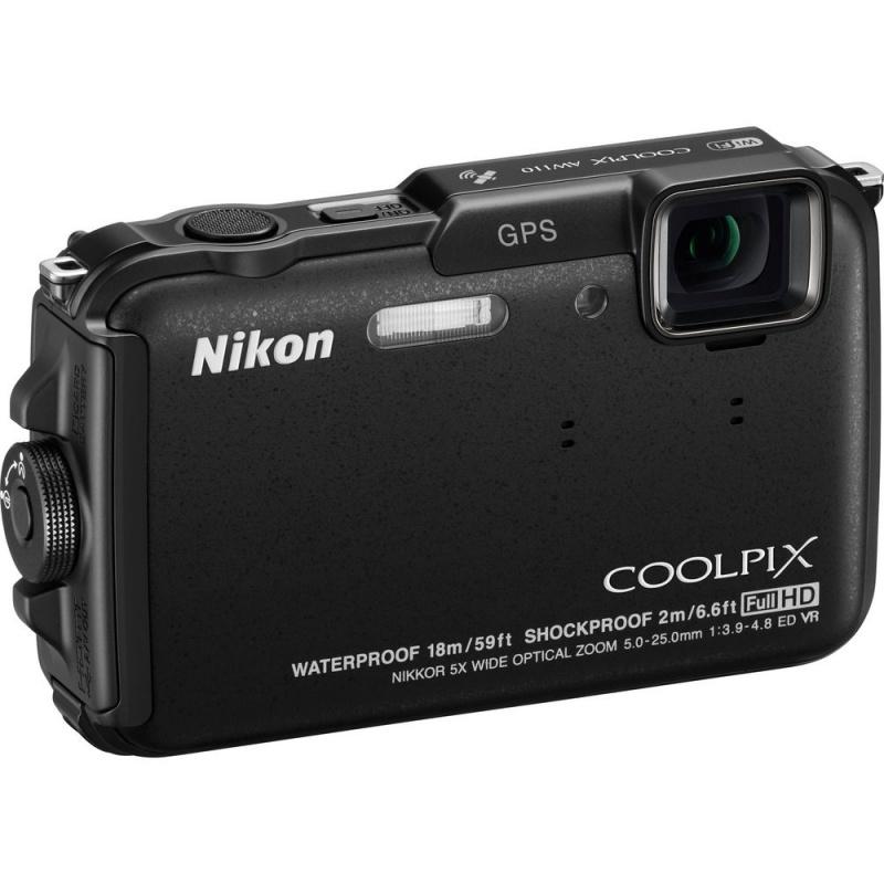Купить - Nikon Nikon COOLPIX AW110 Black