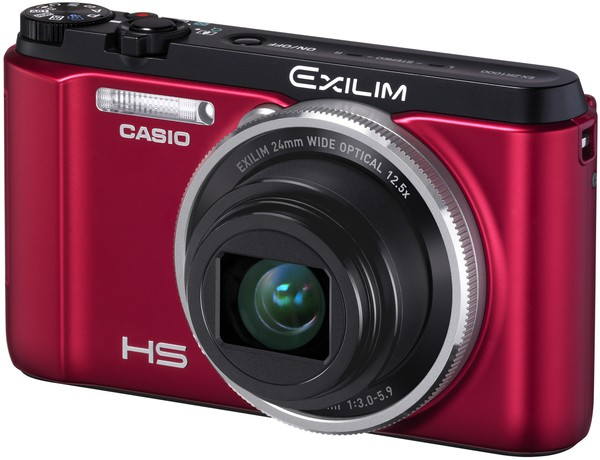 Купить -  Casio Exilim EX-ZR1000 Red