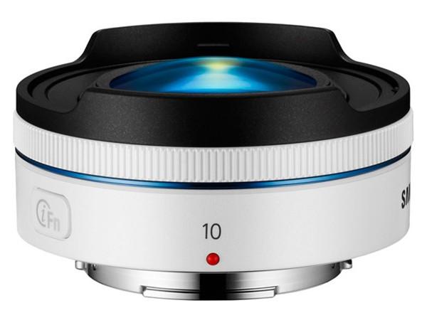 Купить -  Samsung EX-F10ANB Fisheye White