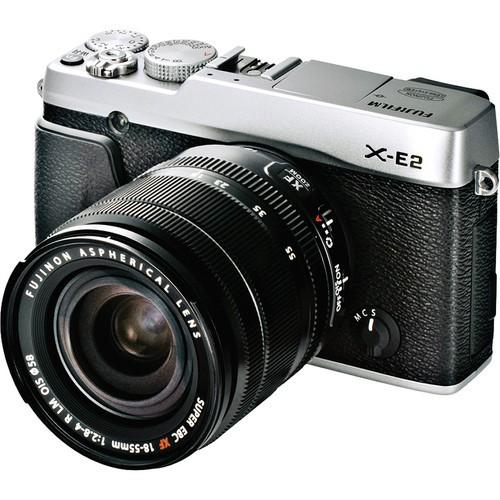 Купить - Fujifilm Fujifilm X-E2 + 18-55mm F2.8-4.0 Kit Silver