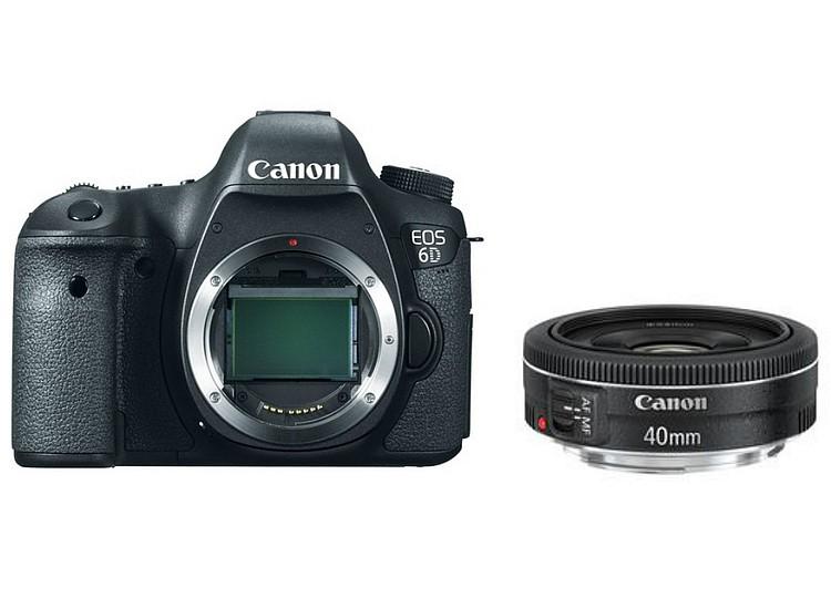 Купить -  Canon EOS 6D (WG) + объектив 40mm f/2.8 STM (Kit) Официальная гарантия!