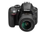 Фото Nikon Nikon D3300 (Black) + объектив 18-55mm f/3.5-5.6G VR II (Kit) Официальная гарантия!
