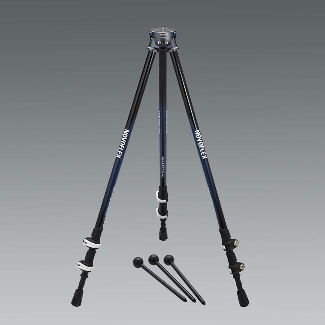 Купить -  Штатив NOVOFLEX TrioPod TRIOWALK Алюминиевый, 3 секции, мини ноги и чехол в комплекте (TRIOWALK)