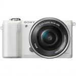 Фото - Sony Sony Alpha 5000 kit 16-50mm White (Официальная гарантия)