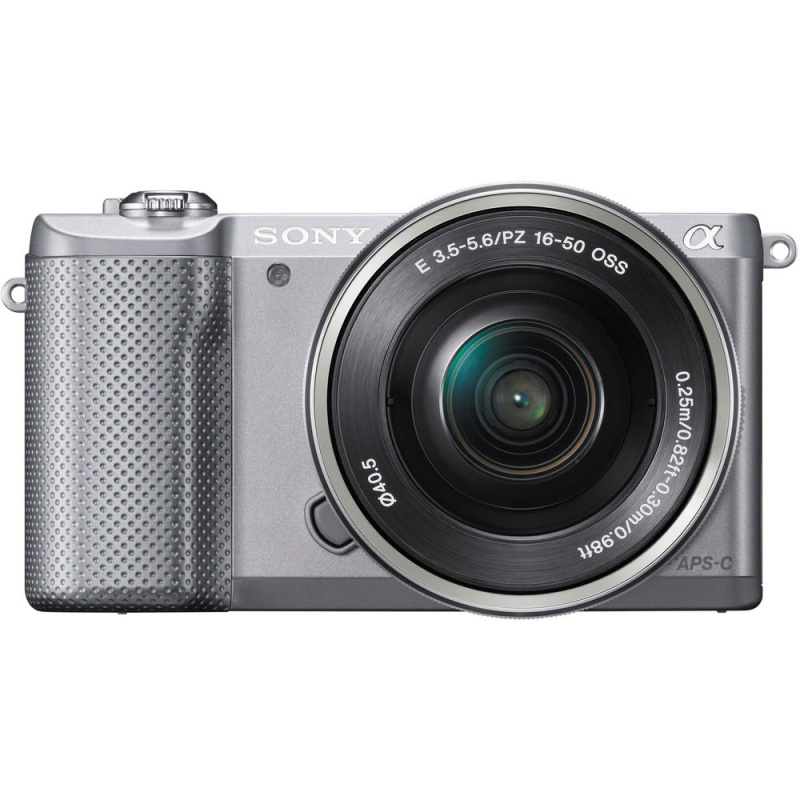 Купить - Sony Sony Alpha 5000 kit 16-50mm Silver (Официальная гарантия)