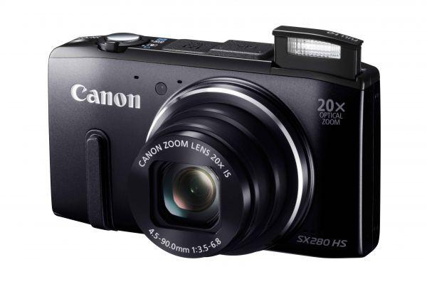 Купить -  Canon PowerShot SX280 HS  Black