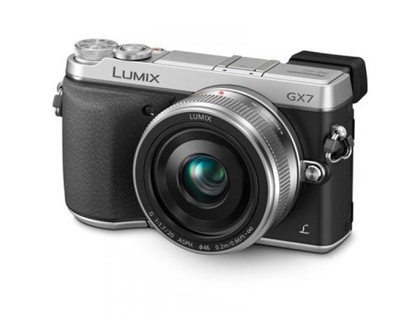 Купить -  Panasonic DMC-GX7 Kit 20 mm Silver (DMC-GX7CEE-S)
