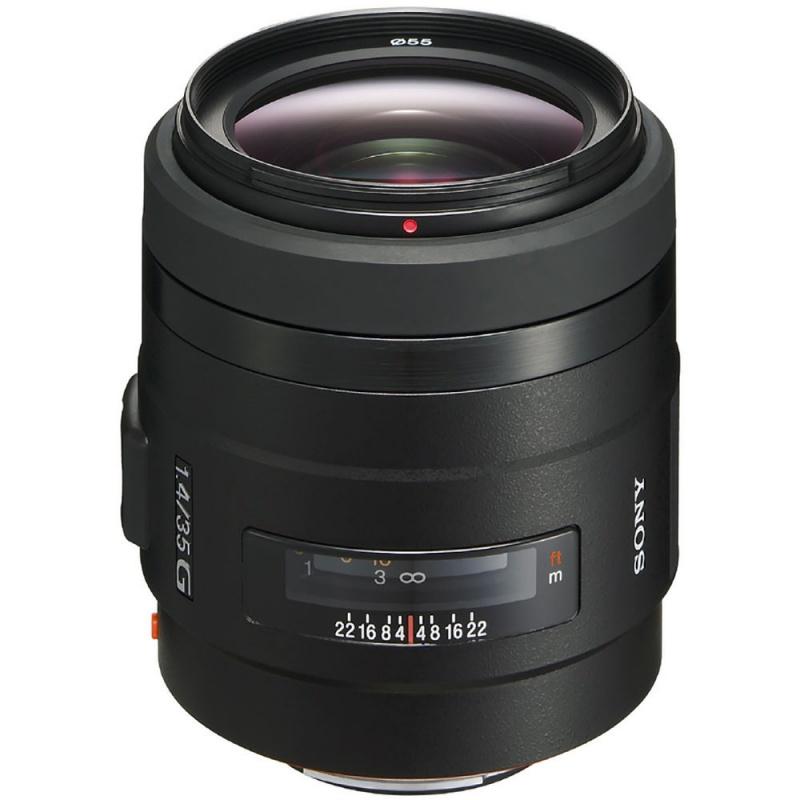 Купить - Sony Sony 35mm f/1.4 G (SAL35F14G.AE)