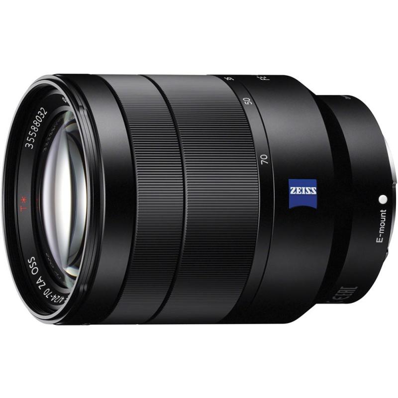 Купить - Sony Sony 24-70mm f/4.0 ZEISS для камер NEX FF (SEL2470Z.AE)