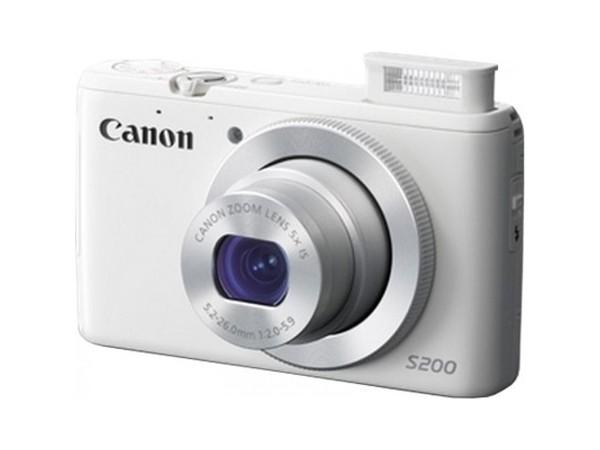 Купить -  Canon PowerShot S200 WH (8675B017AA)