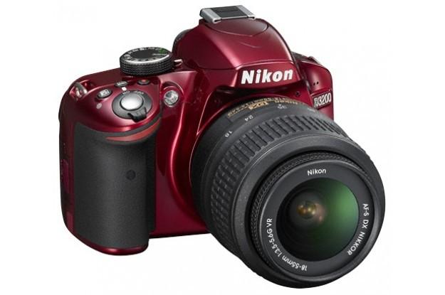 Купить - Nikon  Nikon D3200 kit 18-55 VR II Red (Официальная гарантия)