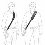 Фото  Ремень наплечный Manfrotto TRIPOD SHOULDER STRAP 1 (MB MSTRAP-1)
