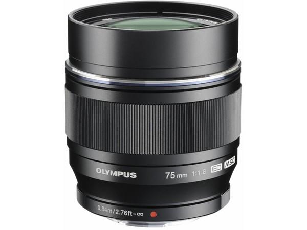Купить -  OLYMPUS M.ZUIKO DIGITAL ED 75mm 1:1.8 Black (Официальная гарантия)