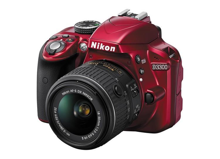 Купить - Nikon Nikon D3300 (Red) + объектив 18-55mm f/3.5-5.6G VR II (Kit) Официальная гарантия!