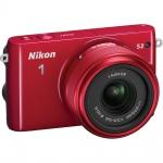 Фото - Nikon Nikon 1 S2 kit (11-27.5mm) Red - В подарок карта памяти 16 Gb !!!