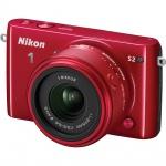 Фото Nikon Nikon 1 S2 kit (11-27.5mm) Red - В подарок карта памяти 16 Gb !!!