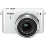 Фото Nikon Nikon 1 S2 kit (11-27.5mm) White - В подарок карта памяти 16 Gb !!!