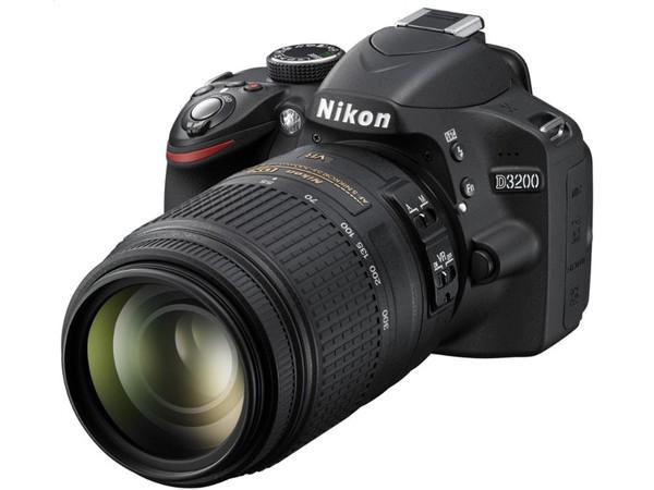 Купить - Menik Nikon D3200 + объектив 18-55 VR II + 55-300 VR Официальная гарантия!