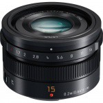 Фото - Panasonic Panasonic Micro 4/3 Lens 15mm F1.7 (H-X015E-K) + Подарочный сертификат на 1000 грн!!!