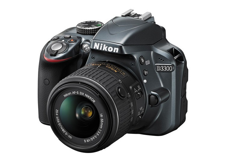 Купить - Nikon Nikon D3300 (Grey) + объектив 18-55mm f/3.5-5.6G VR II (Kit) Официальная гарантия!