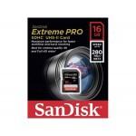 Фото -  SanDisk ExtremePro 4K 16GB SDHC Class 10 UHS-II R280/W250MB/s