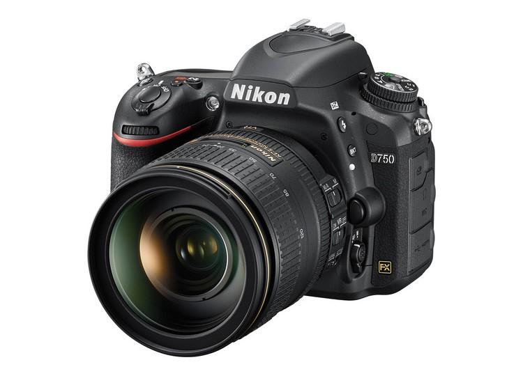 Купить - Nikon Nikon D750 + объектив 24-120mm f/4G ED VR (Kit) Официальная гарантия !!!
