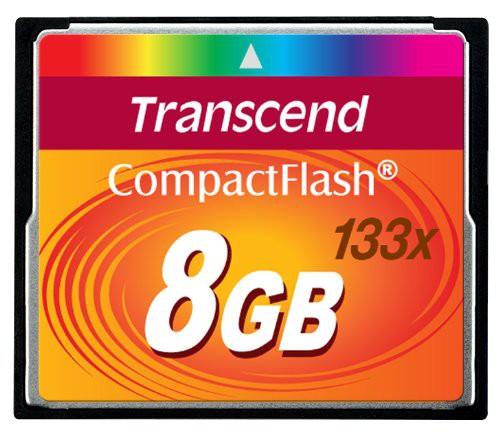 Купить -  Карта памяти Transcend CF 8GB(133x)(TS8GCF133)