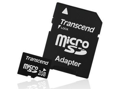 Купить -  Карта памяти Transcend MicroSD 2GB (+2 адаптераMini,SD)(TS2GUSD-2)