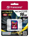 Фото -  Карта памяти Transcend Ultimate SDHC 16GB Class 10 UHS-I R90MB/s (TS16GSDHC10U1)