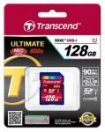 Фото -  Карта памяти Transcend Ultimate SDXC 128GB Class 10 UHS-I R90MB/s (TS128GSDXC10U1)