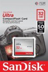 Фото -  Карта памяти SanDisk CF Ultra 32GB R50MB/s(SDCFHS-032G-G46)