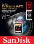 Фото -  Карта памяти SanDisk ExtremePro 32GB SDHC Class 10 UHS-I 95MB/s(SDSDXPA-032G-X46)
